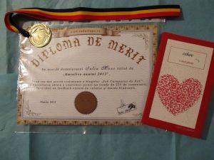 diploma medalie carte
