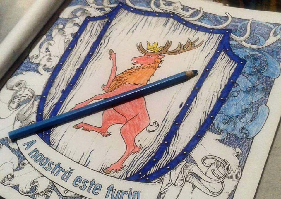 coloring pages viata ca un burete game of thrones