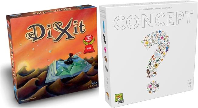 board games dixit concept