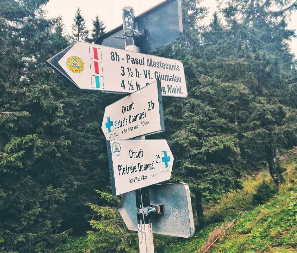 trasee Munții Rarău - Giumalău